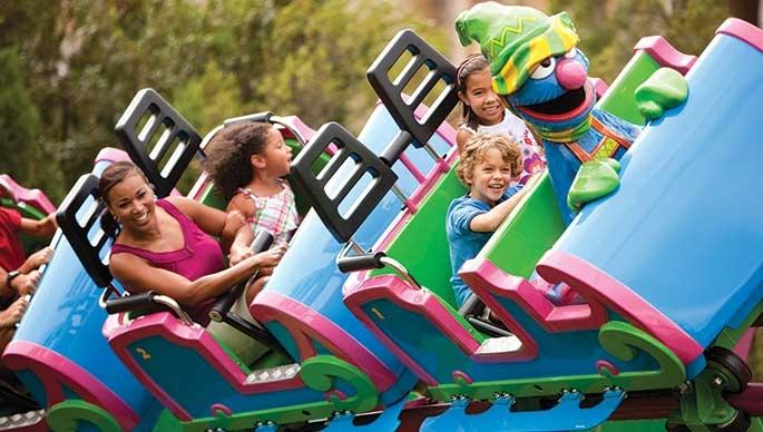 Busch Gardens: Thrills for Kids